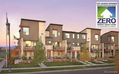 Denver Condo/Townhouse Active: 5672 North Galena Street