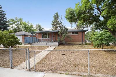 Arvada Single Family Home Active: 6678 West 62nd Avenue