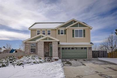 Aurora Single Family Home Active: 2493 South Flanders Court