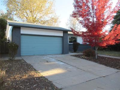 Broomfield County Single Family Home Active: 3442 North Princess Circle