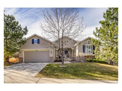 Castle Pines Single Family Home Under Contract: 1021 Snow Lily Court