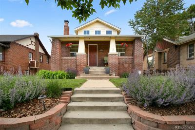 Denver Single Family Home Under Contract: 3545 North Garfield Street