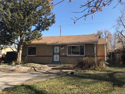Denver Single Family Home Active: 3660 Kearney Street