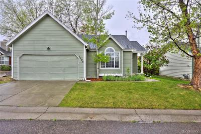 Highlands Ranch Single Family Home Under Contract: 1176 Cobblestone Drive