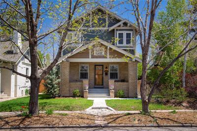 Denver Single Family Home Active: 1206 Garfield Street