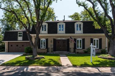 Centennial Single Family Home Active: 7000 South Harrison Street