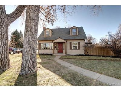 Denver Single Family Home Active: 4120 East Wesley Avenue