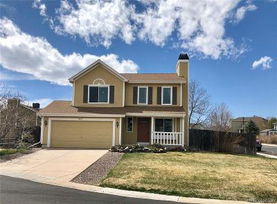 Parker Single Family Home Under Contract: 8653 Red Clover Court