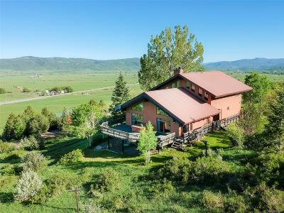 Steamboat Springs CO Single Family Home Active: $895,000