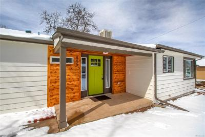Denver Single Family Home Active: 855 South Yates Street