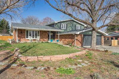 Wheat Ridge Single Family Home Under Contract: 3375 Dudley Street