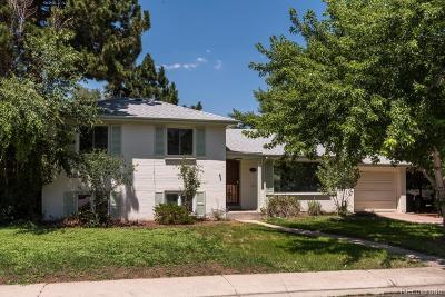 Denver Single Family Home Active: 5731 East Gunnison Place