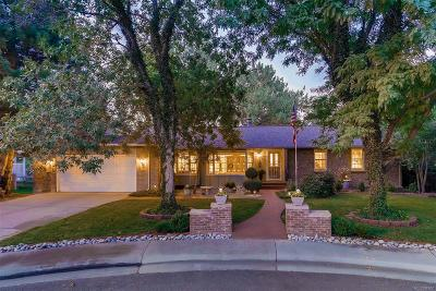 Centennial Single Family Home Under Contract: 6171 South Marion Way