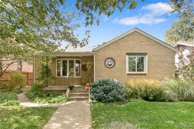 Denver Single Family Home Active: 745 Madison Street