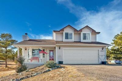 Kiowa CO Single Family Home Under Contract: $425,000