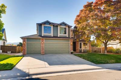 Highlands Ranch Single Family Home Under Contract: 10105 Silver Maple Road