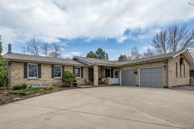 Wheat Ridge Single Family Home Active: 3880 Garland Street