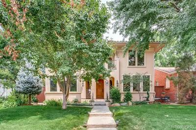 Denver Single Family Home Active: 1026 South Cook Street