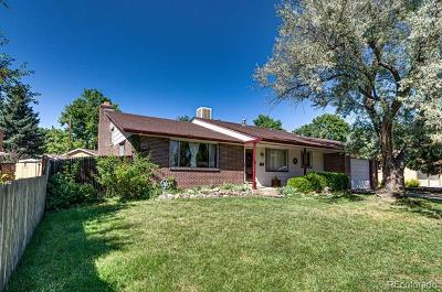 Arvada Single Family Home Active: 6825 Owens Street