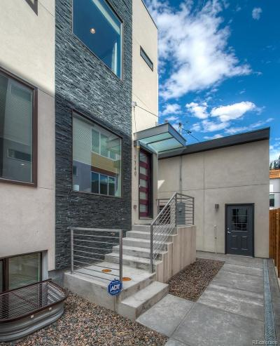 Denver Condo/Townhouse Active: 1740 Lowell Boulevard