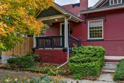 Condo/Townhouse Under Contract: 1815 East 25th Avenue