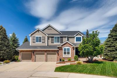 Highlands Ranch Single Family Home Active: 1551 Meyerwood Lane
