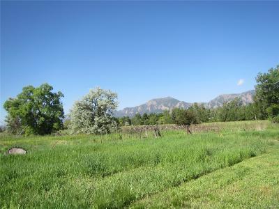 Boulder Single Family Home Active: 5610 Baseline Road