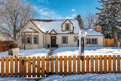 Wheat Ridge Single Family Home Under Contract: 3710 Benton Street