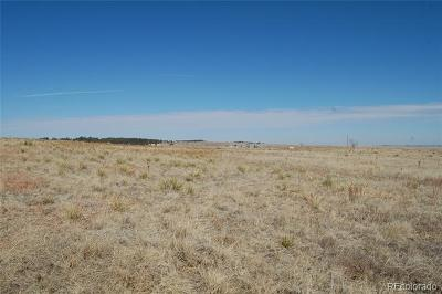 Kiowa CO Residential Lots & Land Active: $149,999