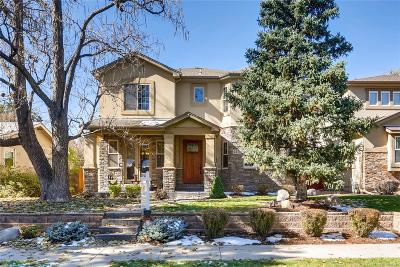 Denver Single Family Home Active: 2275 South Franklin Street