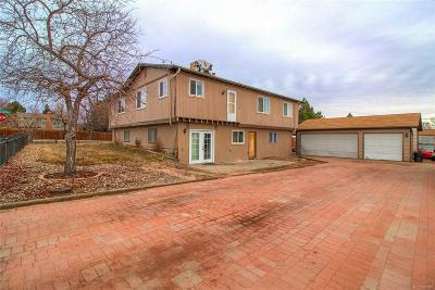 Littleton Single Family Home Active: 7680 West Chatfield Avenue