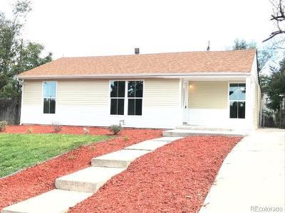 Denver Single Family Home Active: 1840 West Gunnison Place