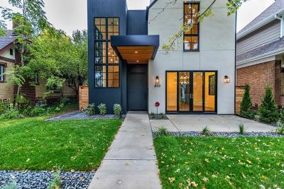 Denver Single Family Home Sold: 610 South Race Street