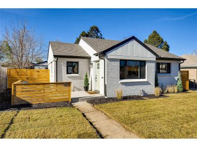 Denver Single Family Home Active: 3035 North Adams Street