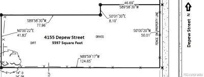 Denver Residential Lots & Land Active: 4155 Depew Street
