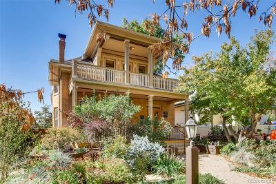 Denver Single Family Home Active: 409 South Emerson Street
