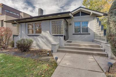 Denver Single Family Home Active: 561 Cook Street