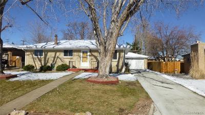 Denver Single Family Home Active: 2901 Cottonwood Drive
