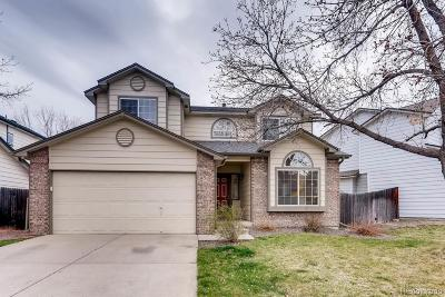Aurora Single Family Home Under Contract: 3773 South Uravan Way