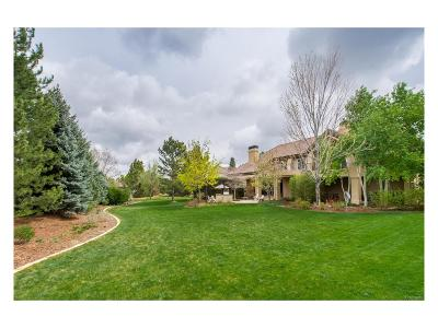 Centennial, Cherry Hills Village, Englewood, Greenwood Village, Littleton, Highlands Ranch, Castle Pines, Castle Pines N, Lone Tree Single Family Home Active: 5761 South Elm Street