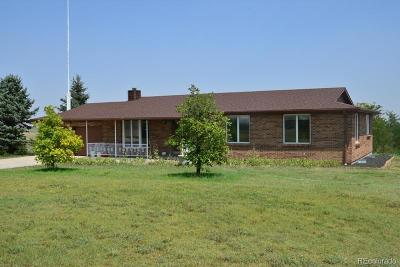 Byers Single Family Home Active: 299 South County Road 173 (Bradbury Road) Roads