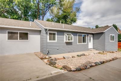 Golden, Lakewood, Arvada, Evergreen, Morrison Single Family Home Under Contract: 7805 Kipling Street