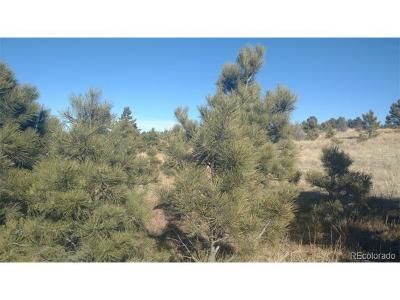 Calhan CO Residential Lots & Land Active: $399,000