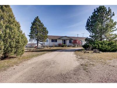 Elbert County Single Family Home Active: 5474 Pinon Drive