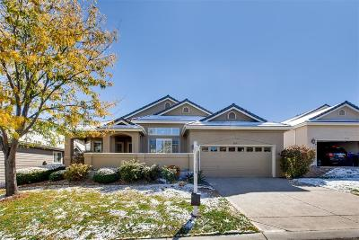 Lone Tree Single Family Home Under Contract: 9631 Silver Hill Circle