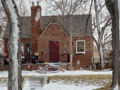 Denver Single Family Home Sold: 3320 West 46th Avenue