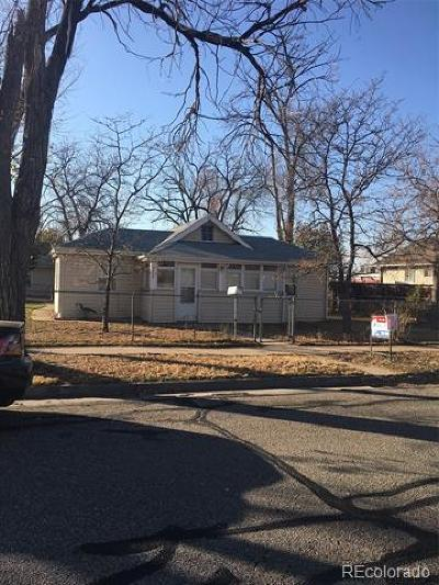 Denver Single Family Home Active: 4375 Benton Street