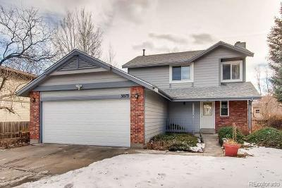 Boulder Single Family Home Under Contract: 3873 Bosque Court