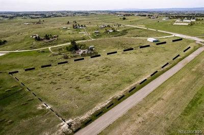 Parker Residential Lots & Land Active: 54 Skyhawk Way