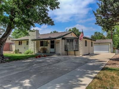 Littleton Single Family Home Active: 3509 West Alamo Place